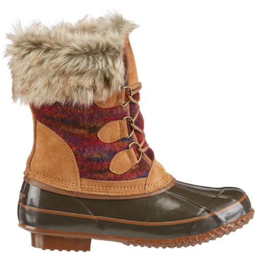 Display product reviews for KHOMBU® Women's Julliard Fashion Duck Boots