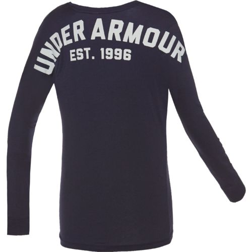 Under Armour Women's Favorite Collegiate Long Sleeve Shirt