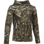 Under Armour® Boys' Camo Logo Hoodie