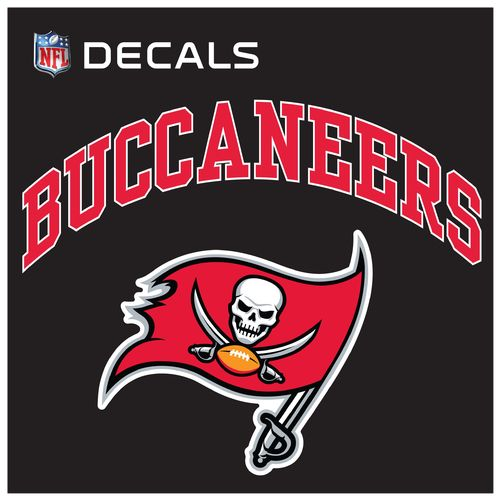 "Stockdale Tampa Bay Buccaneers 8"" x 8"" Arched Decal"