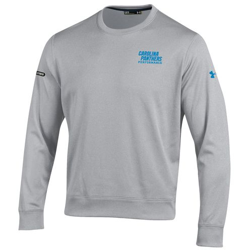 Under Armour™ NFL Combine Authentic Men's Carolina Panthers Armour® Fleece Crew Pullov