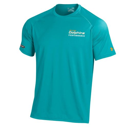 Under Armour™ NFL Combine Authentic Miami Dolphins Core Tech T-shirt