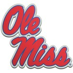 Stockdale University of Mississippi Laser-Cut Auto Emblem