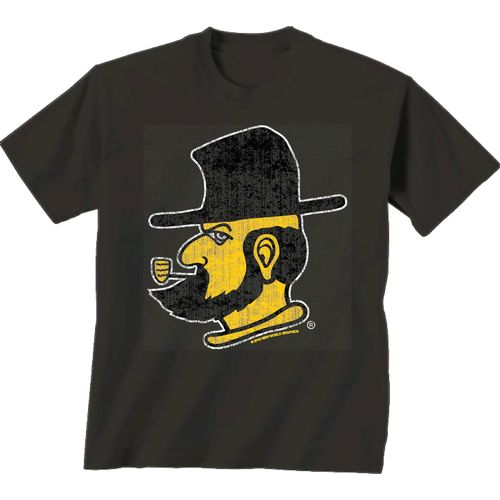 New World Graphics Men's Appalachian State University Alt Graphic T-shirt