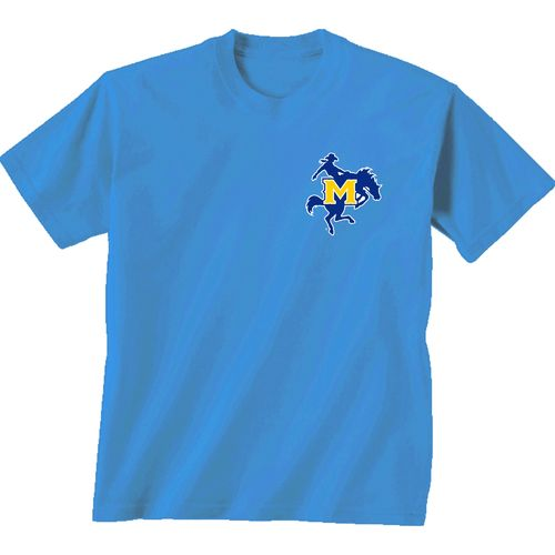 New World Graphics Women's McNeese State University Madras T-shirt - view number 2