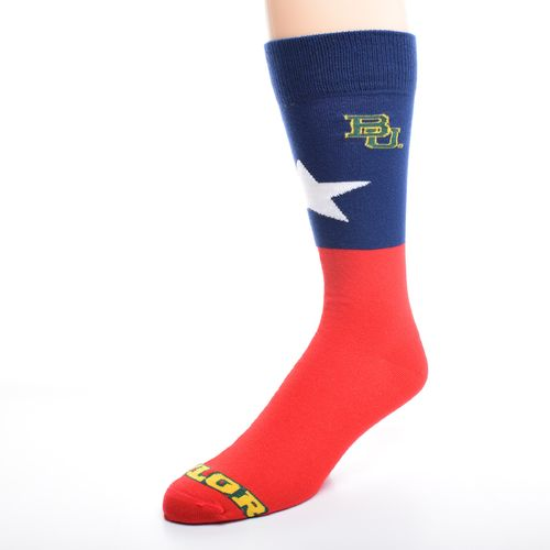 FBF Originals Adults' Baylor University Argyle Socks