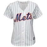 Majestic Women's New York Mets Zack Wheeler #45 Authentic Cool Base Home Jersey - view number 3