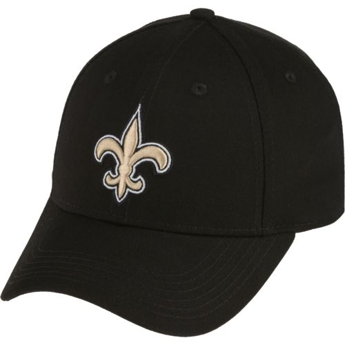 NFL Boys' New Orleans Saint Lil' Constant Basic Structure Adjustable Cap