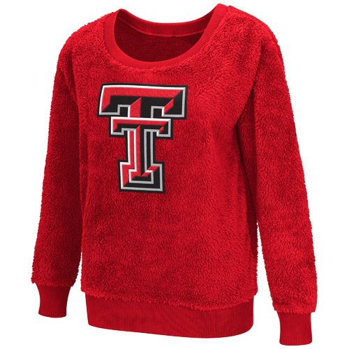G-III for Her Women's Texas Tech University Sherpa Guide Pullover