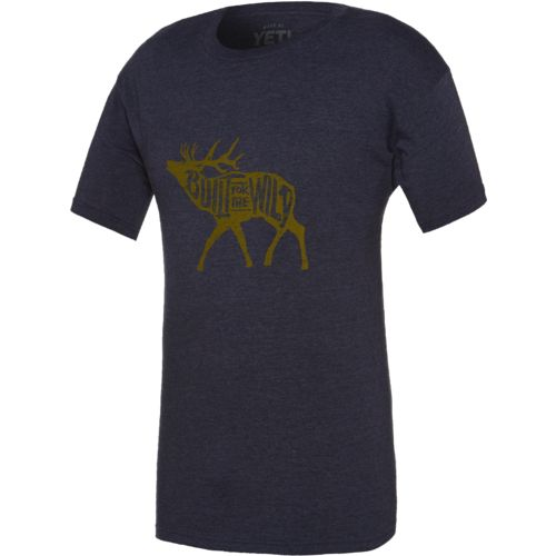 Display product reviews for YETI Men's Built for the Wild Bugling Elk T-shirt