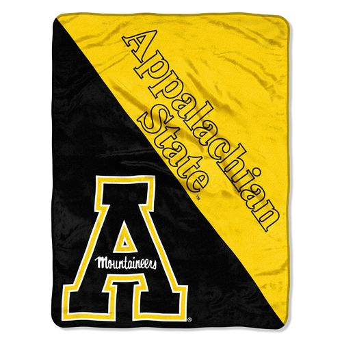 The Northwest Company Appalachian State University Halftone Micro Raschel Throw