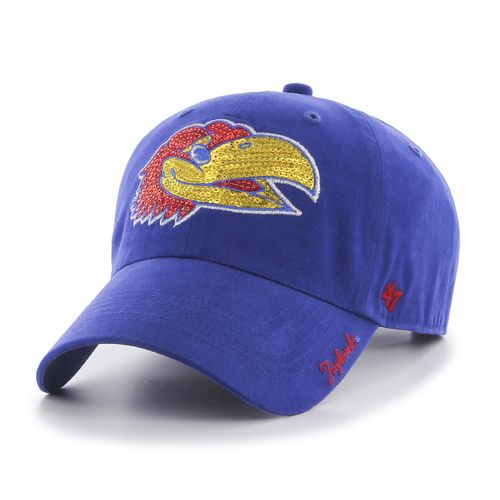 '47 Women's University of Kansas Sparkle Cleanup Cap - view number 1
