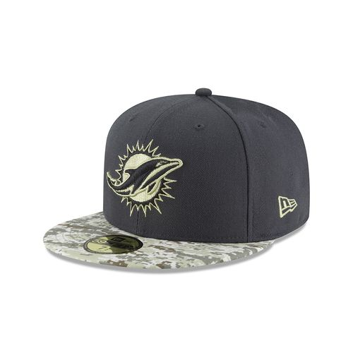 New Era Men's Miami Dolphins Salute to Service 59FIFTY Cap