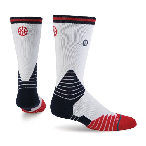 Stance Men's New Orleans Pelicans Logo Crew Socks - view number 1
