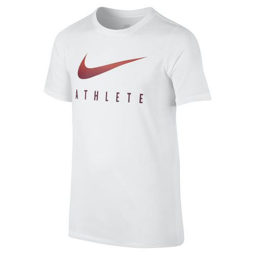 Nike Boys' Swoosh Athletic Heat T-shirt