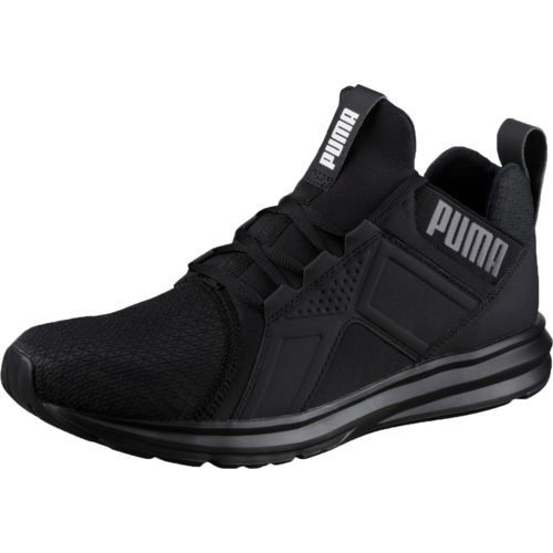 all black puma running shoes