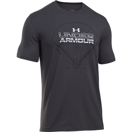Under Armour Men's Baseball Field Wordmark Charged Cotton T-shirt