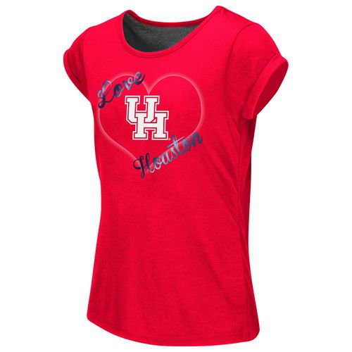 Colosseum Athletics™ Girls' University of Houston Baywatch Split Back T-shirt