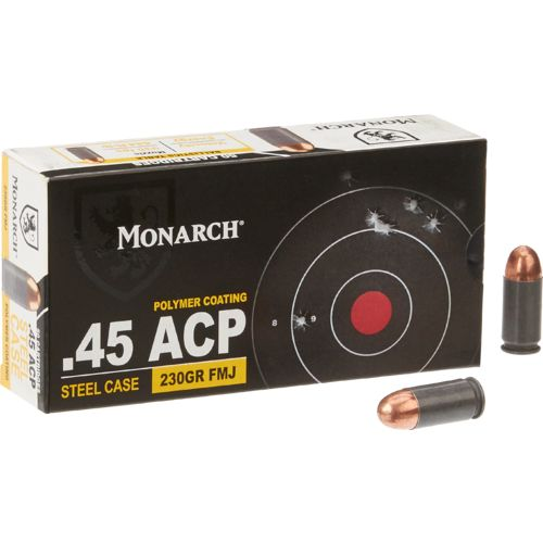 Monarch® .45 ACP 230-Grain Centerfire Pistol Ammunition
