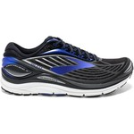 Black/Electric Brooks Blue/Silver