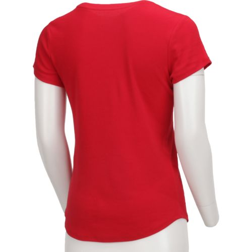 BCG Women's Horizon Short Sleeve Crew Solid Heather Top - view number 2