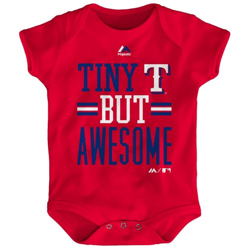 MLB Infants' Texas Rangers Tiny But Awesome Onesie