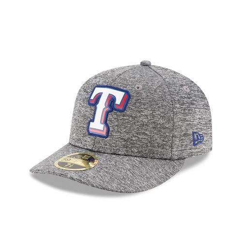 New Era Men's Texas Rangers Bevel Team 59FIFTY Cap