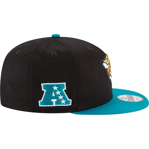 New Era Men's Jacksonville Jaguars 9FIFTY Baycik Snapback Cap - view number 5