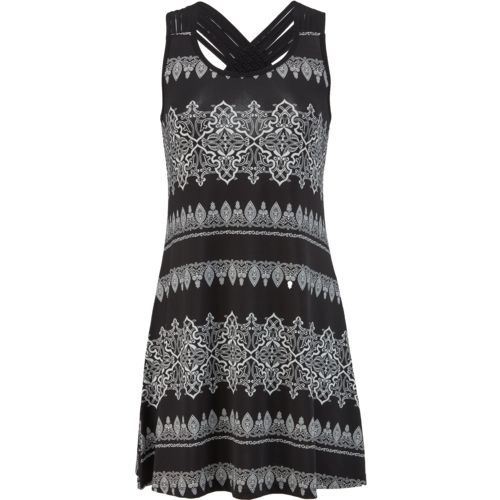O'Rageous Women's Macrame Back Tank Dress Cover-Up