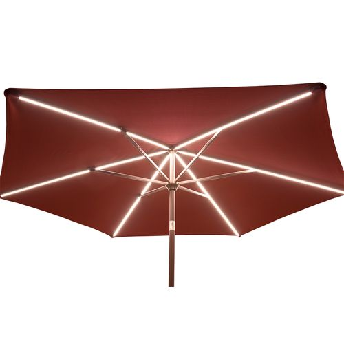 ... Quik Shade Ultra Brite Outdoor Warm Lighted Patio Umbrella   View  Number 5 ...