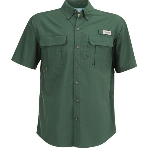 Magellan Outdoors Men's Laguna Madre Solid Short Sleeve Fishing Shirt