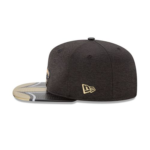 New Era Men's New Orleans Saints 9FIFTY® NFL17 On Stage Cap - view number 4