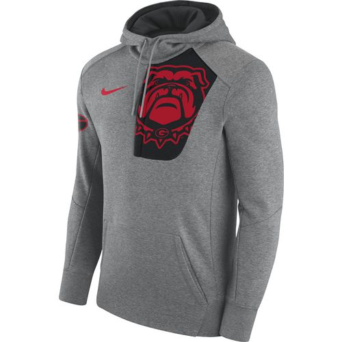 Nike Men's University of Georgia Fly Fleece Pullover Hoodie