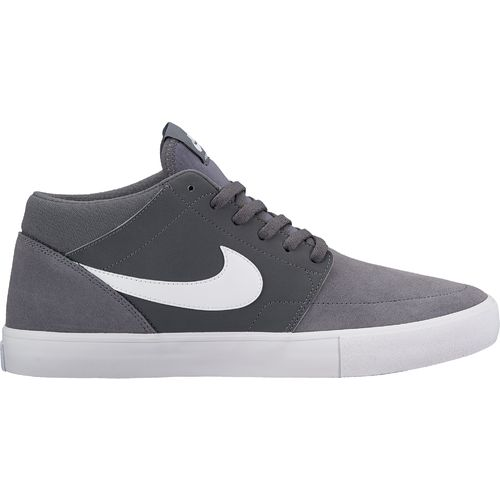 Nike Men's SB Solarsoft Portmore II Mid Skateboarding Shoes