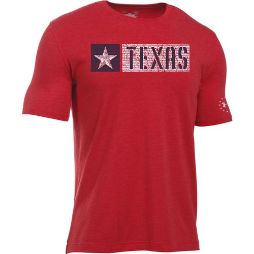 Under Armour Men's Texas Freedom Pride Short Sleeve T-shirt