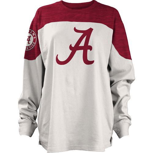 Three Squared Juniors' University of Alabama Cannondale Long Sleeve T-shirt