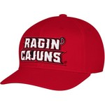 adidas Men's University of Louisiana at Lafayette Structured Logo Flex Cap - view number 1