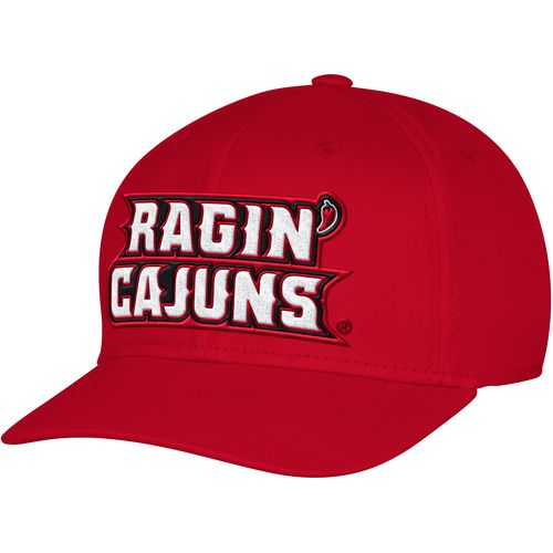 adidas Men's University of Louisiana at Lafayette Structured Logo Flex Cap