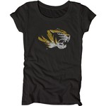 Blue 84 Juniors' University of Missouri Mascot Soft T-shirt - view number 1