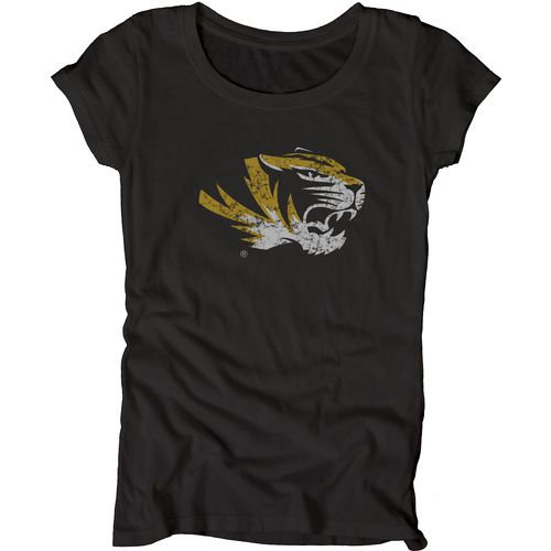 Blue 84 Juniors' University of Missouri Mascot Soft T-shirt