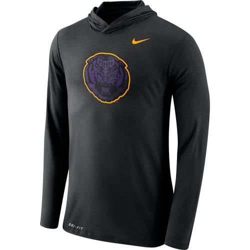 Nike Men's Louisiana State University Dri-Blend Long Sleeve Hoodie T-shirt