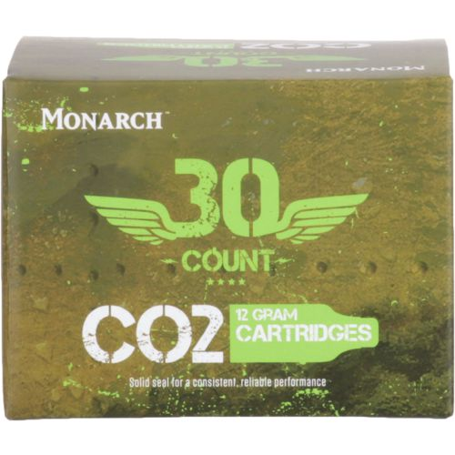 Monarch .12 g CO2 Cartridges 30-Pack