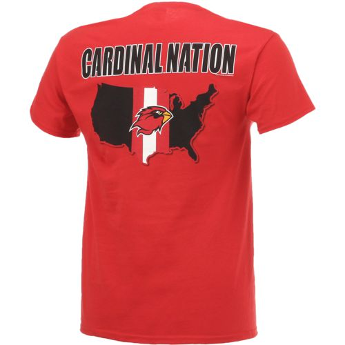 New World Graphics Men's Lamar University Stripe Nation T-shirt - view number 2