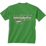 New World Graphics Women's University of North Texas Logo Aztec T-shirt - view number 1
