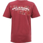 New World Graphics Women's University of Oklahoma Comfort Color Puff Arch T-shirt - view number 1