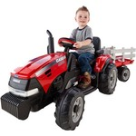Peg Perego Case IH Magnum Tractor 12 V Ride-On Vehicle - view number 1