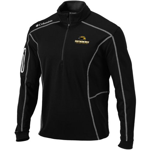 Columbia Sportswear Men's University of Southern Mississippi Shotgun 1/4 Zip Pullover