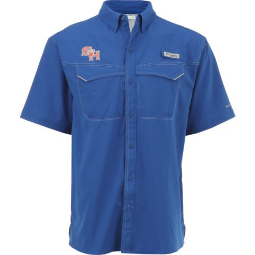Columbia Sportswear Men's Sam Houston State University Low Drag Offshore Short Sleeve Shirt