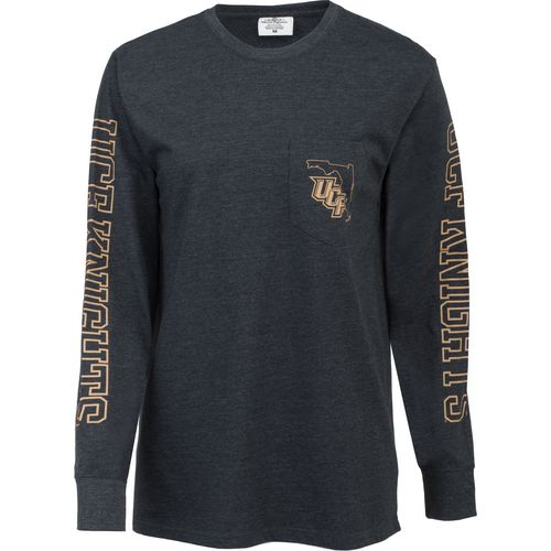 Three Squared Juniors' University of Central Florida Mystic Long Sleeve T-shirt