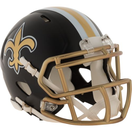 Riddell New Orleans Saints Blaze Speed Mini Helmet